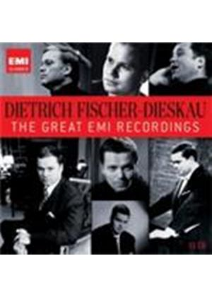 Dietrich Fischer-Dieskau - (The) Great EMI Recordings (Music CD)