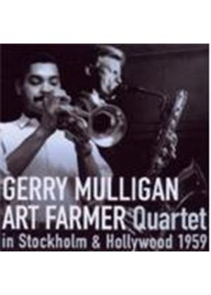 Gerry Mulligan & Art Farmer Quartet - In Stockholm And Hollywood 1959 (Music CD)