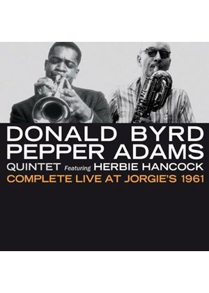 Donald Byrd - Complete Live at Jorgie's, 1961 (Music CD)