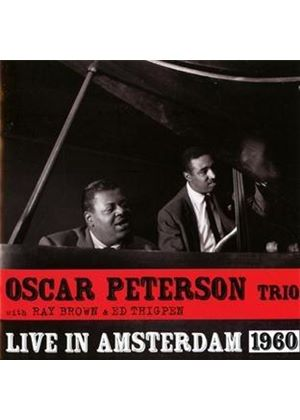 Oscar Peterson - Live in Amsterdam 1960 (Live Recording) (Music CD)