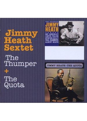 Jimmy Heath - The Thumper + The Quota (Music CD)