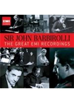 Sir John Barbirolli - The Great EMI Recordings (Music CD)