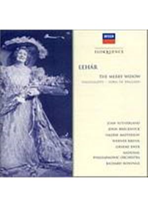 NPO/Bonynge - Lehar/The Merry Widow (Hlts) (Music CD)