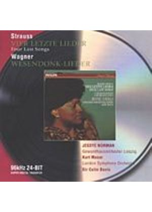 Strauss/Wagner - Four Last Songs/Wesendonk Lieder (Norman, Davis) (Music CD)