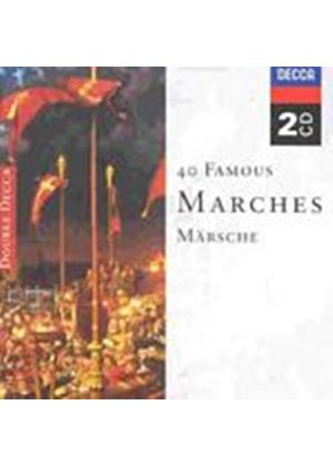 Various Artists - 40 Famous Marches (Music CD)