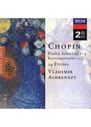 Fryderyk Chopin - Piano Sonatas 1-3 (Ashkenazy) (Music CD)