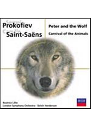 Prokofiev/Saint-Saens - Peter And The Wolf, Carnival Of The Animals (LSO, Lillie) (Music CD)