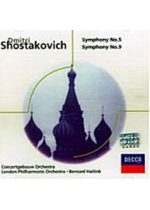 Dmitri Shostakovich - Symphonies Nos. 5 And 9 (Haitink, LPO) (Music CD)