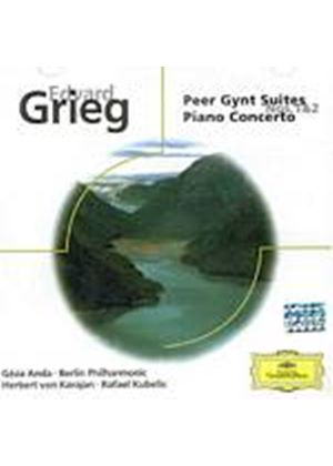 Edvard Grieg - Peer Gynt Suites Nos. 1 And 2/Piano Concerto (Kubelik) (Music CD)
