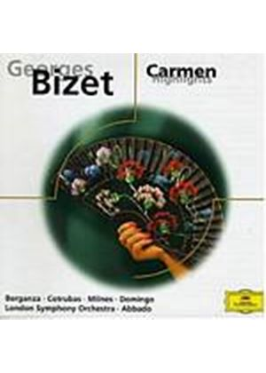 Georges Bizet - Carmen Highlights (Berganza, Domingo, LSO, Abbado) (Music CD)