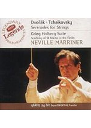 Dvorak/Tchaikovsky - Serenades For Strings (Marriner, ASMIF) (Music CD)
