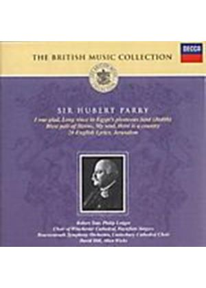 Hubert Parry - I Was Glad, Blest Pair Of Sirens (Hill, Bournemouth SO) (Music CD)