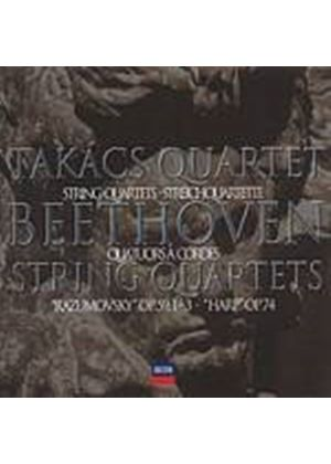 Ludwig Van Beethoven - Middle Quartets (Takacs Quartet) (Music CD)