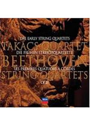 Ludwig Van Beethoven - The Early String Quartets Op. 18 (Takacs Quartet) (Music CD)