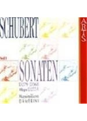 Schubert: Piano Sonatas, Vol. 1