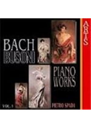 Busoni: Complete Transcriptions for Piano from J.S.Bach, Volume 1