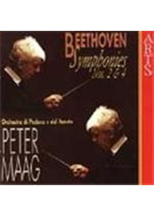 Beethoven: Symphonies Nos. 2 and 4