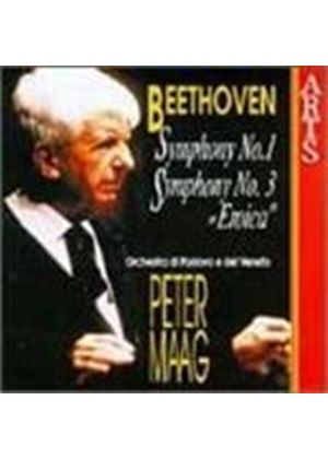 Beethoven: Symphonies Nos 1 and 3
