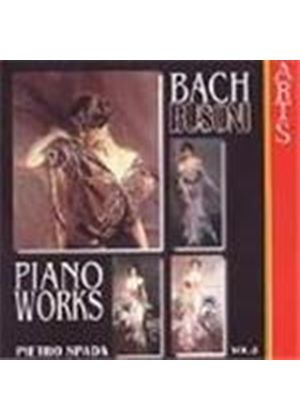 Busoni: Complete Transcriptions for Piano from J.S.Bach, Volume 2