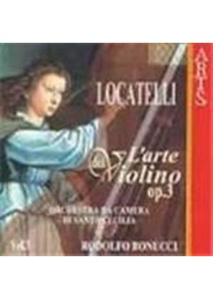Locatelli: L'arte del violino, Op 3 - Vol 3