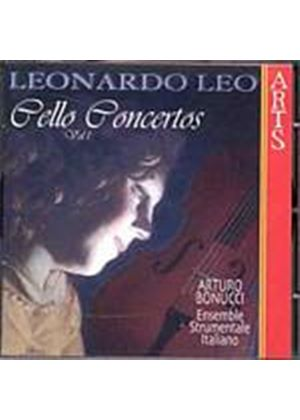 Leonardo Leo - Cello Concertos Vol. 1 (Bonucci, Ens. Strumentale Italiano) (Music CD)