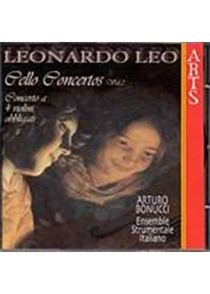 Leonardo Leo - Cello Concertos Vol. 2 (Bonucci, Ens. Strumentale Italiano) (Music CD)