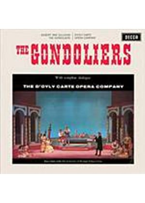 Gilbert And Sullivan - The Gondoliers (DOyly Carte) (Music CD)