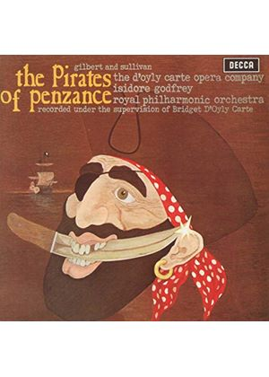 Gilbert And Sullivan - The Pirates Of Penzance (DOyly Carte) (Music CD)