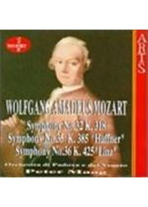 Wolfgang Amadeus Mozart - Symphonies Nos. 32, 35 And 36 (Padova E Del Vento Orc, Maag) (Music CD)