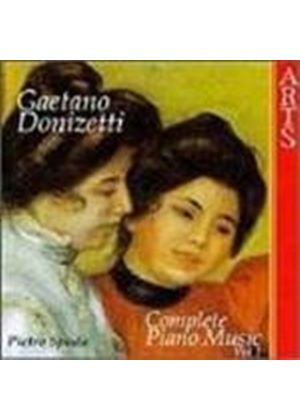 Donizetti: Piano Works, Volume 1