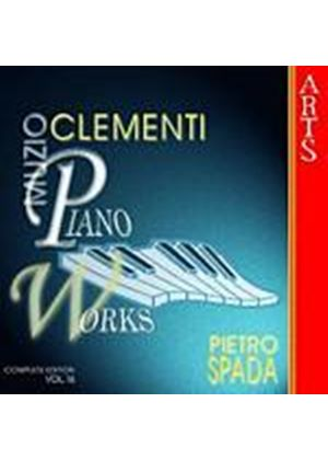 Muzio Clementi - Piano Works Vol. 16 (Spada) (Music CD)