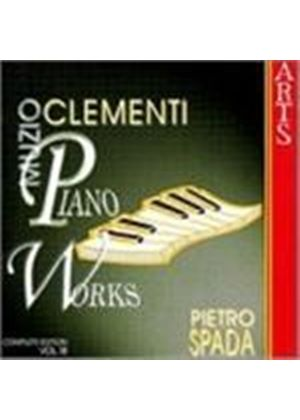 Muzio Clementi - Piano Works - Complete Edition Vol. 18 (Spada) (Music CD)