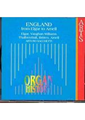 Various Composers - Organ History England (Sacchetti) (Music CD)