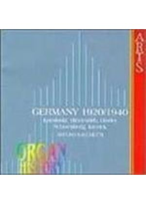 German Organ Works 1920-40