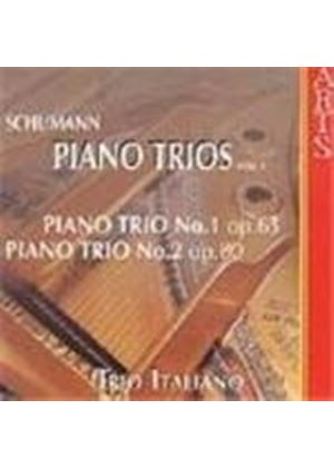 Schumann: Piano Trios, Vol 1