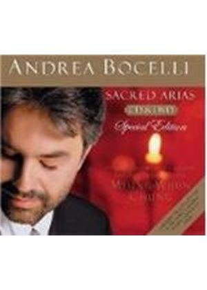 Andrea Bocelli - SACRED ARIAS CD PLUS DVD