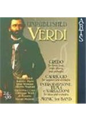 Verdi: Unpublished Works