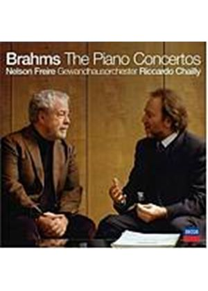 Johannes Brahms - The Piano Concertos (Chailly, Gewandhausorchester, Freire) (Music CD)