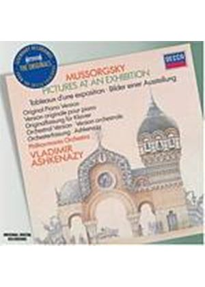 Modest Mussorgsky - Pictures At An Exhibition (Ashkenazy, Philharmonia Orch.) (Music CD)