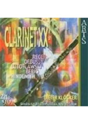 VARIOUS COMPOSERS - Clarinet In The 20th Century Vol. 1 (Klocker)