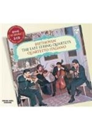 Beethoven - LATE STRING QUARTETS  3CD