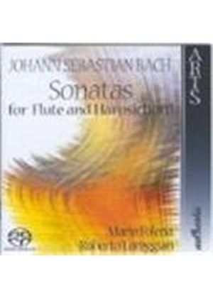 Bach: Sonatas for Flute and Harpsichord [SACD]