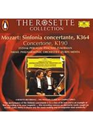 Wolfgang Amadeus Mozart - Sinfonia Concertante K364/Concertone K190 (Mehta) (Music CD)