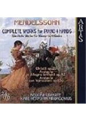 Mendelssohn: Complete Works for Piano 4 Hands