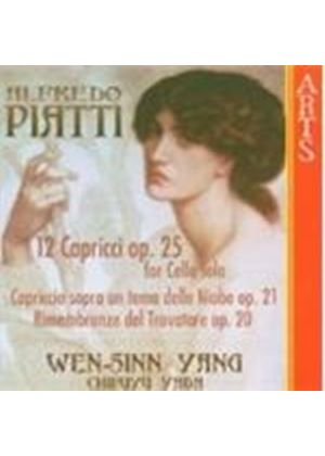 Piatti: Works for Cello and Piano