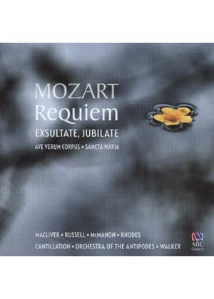 Mozart: Requiem; Exsultate Jubilate (Music CD)