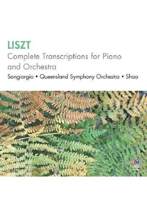 Liszt: Complete Transcriptions for Piano and Orchestra (Music CD)