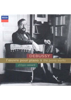 Debussy: L'œuvre pour piano (Music CD)