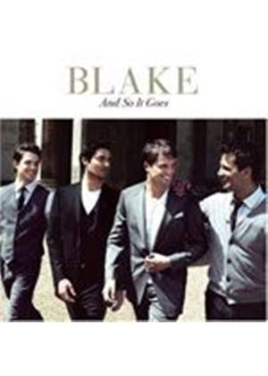 Blake - And So It Goes (Music CD)