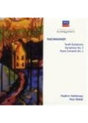 Rachmaninov: Symphony No 3; 'Youth' Symphony; Piano Concerto No 4